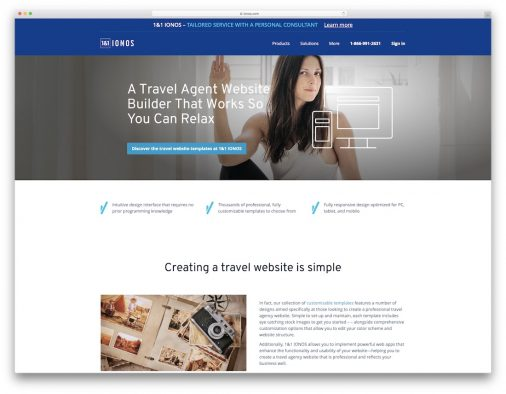 Travel Agency Website Builders