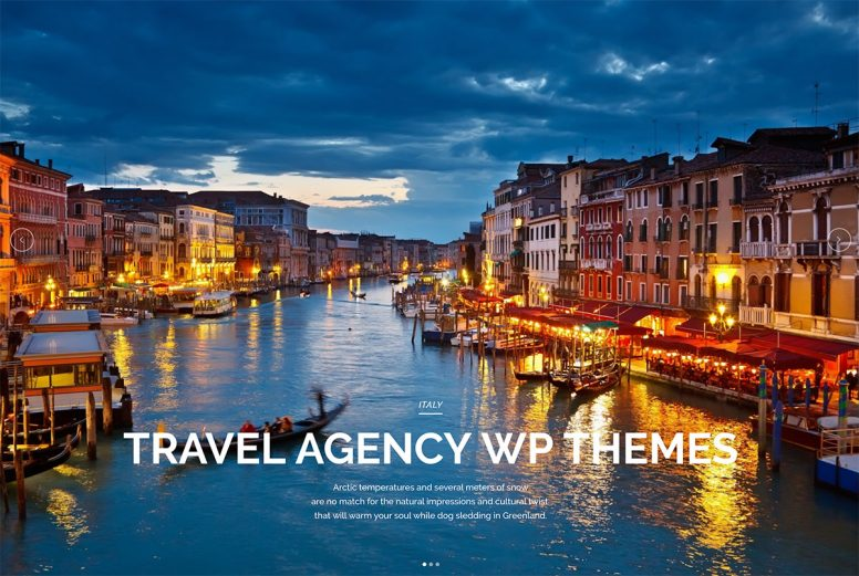 32 Customizable Travel Agency WordPress Themes 2018
