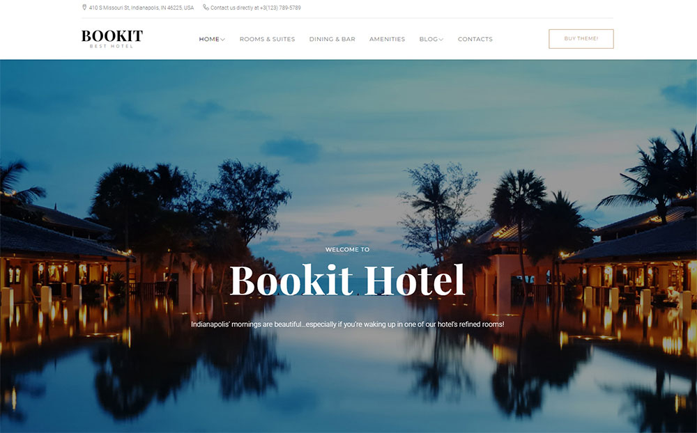 , 20 Awesome Travel & Hotel Booking WordPress Themes 2019, Rojak WP