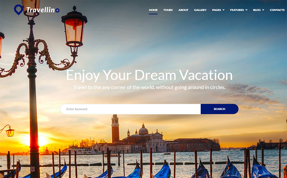 Travellino - Travel Company Elementor WordPress Theme