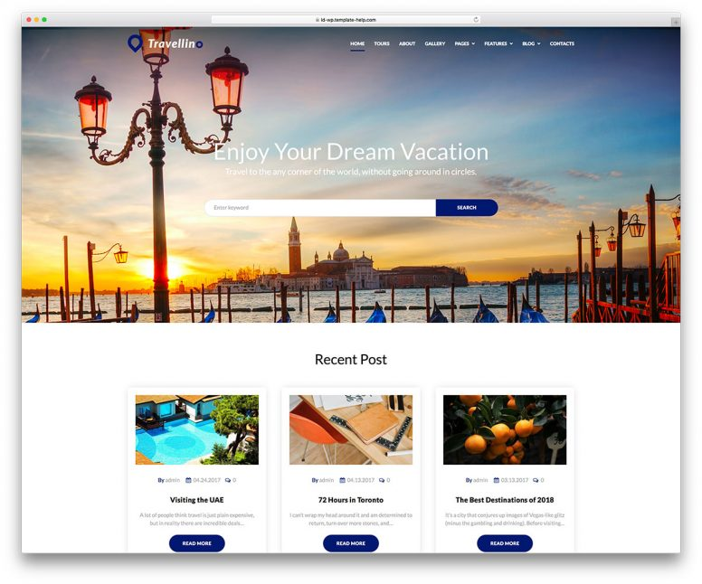 20 Awesome Travel & Hotel Booking WordPress Themes 2018