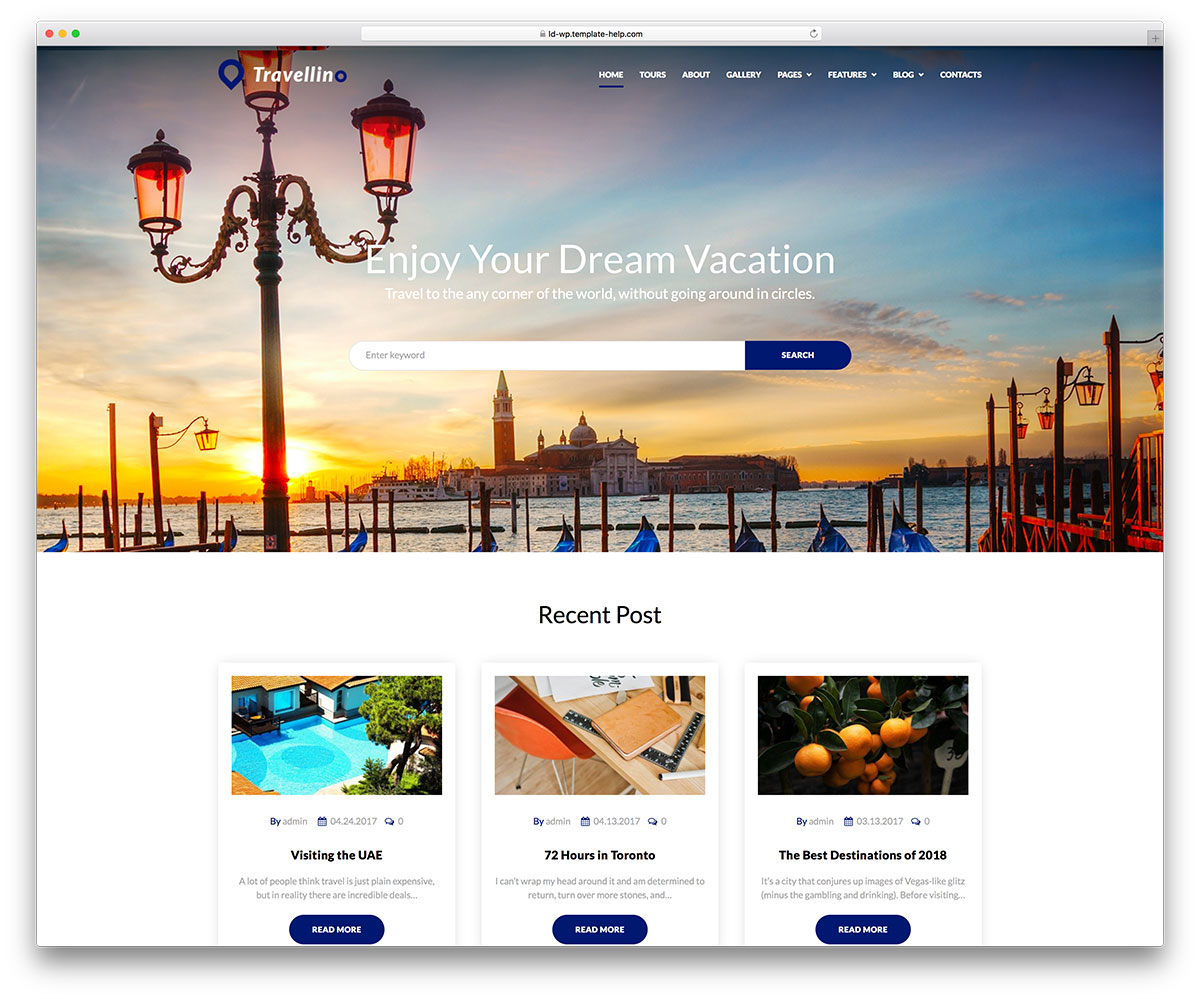 20 Awesome Travel Booking WordPress Themes 2020