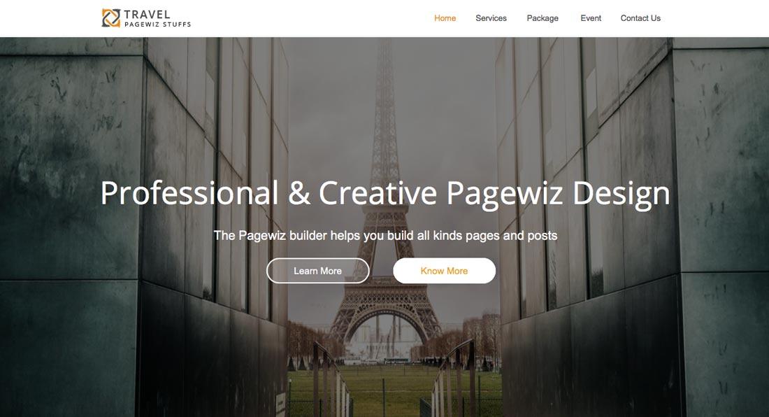 Pagewiz marketing templates