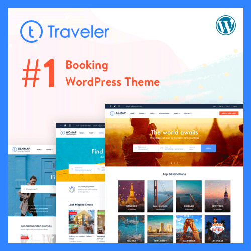 Traveler Theme on Colorlib