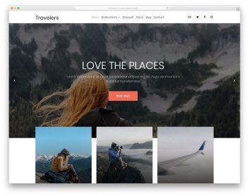 Travelers Free Template