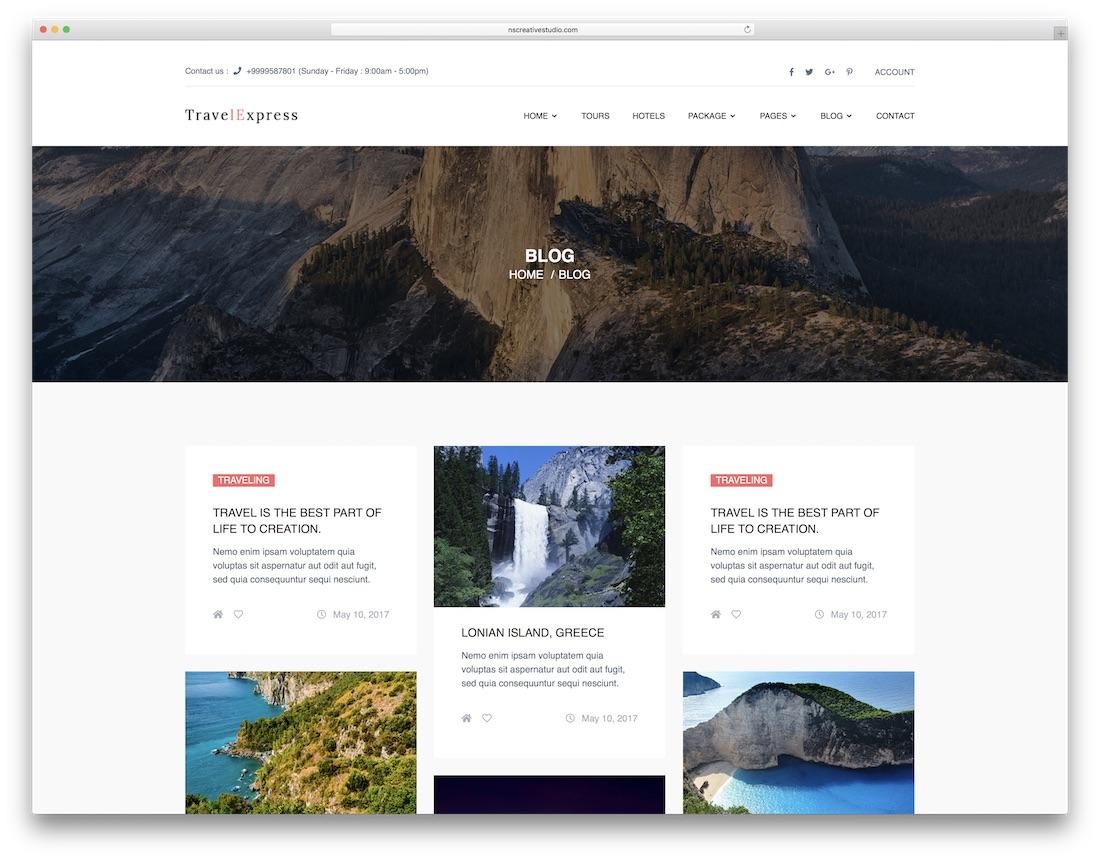 25+ Author Web Templates For Bloggers & Writters 2019 - Colorlib