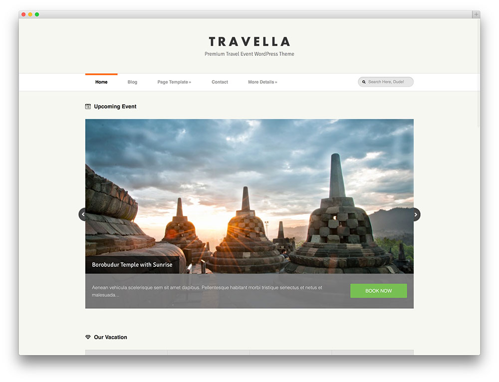 travella premium travel theme