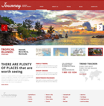 Picturesque Travel Agency WordPress Theme