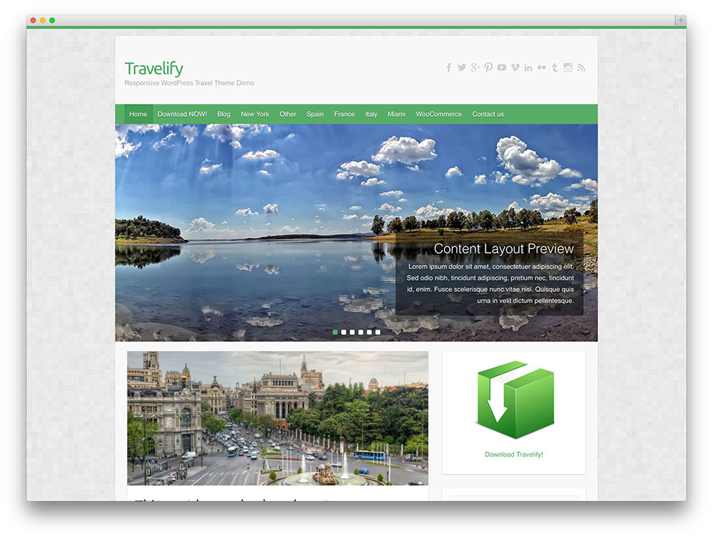 20 Free Wordpress Travel Themes For Travel Blogs & Agency Websites