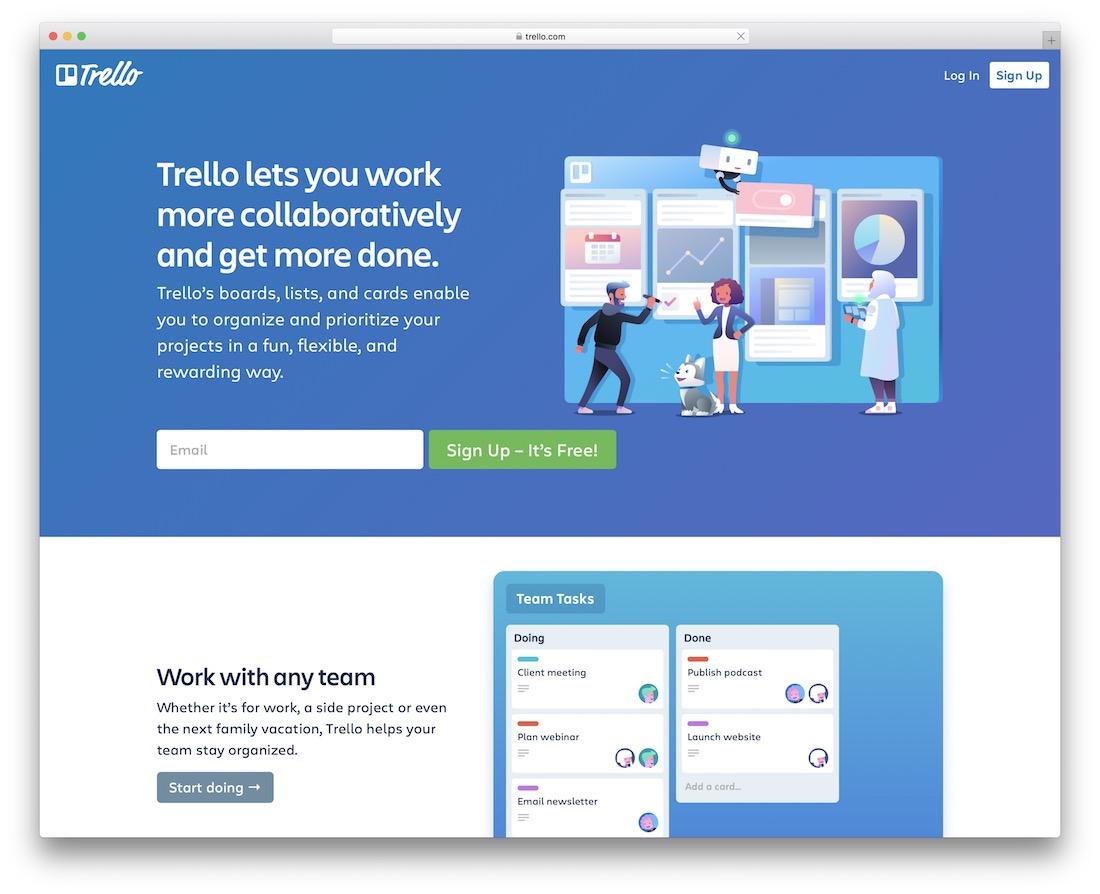 trello productivity tool