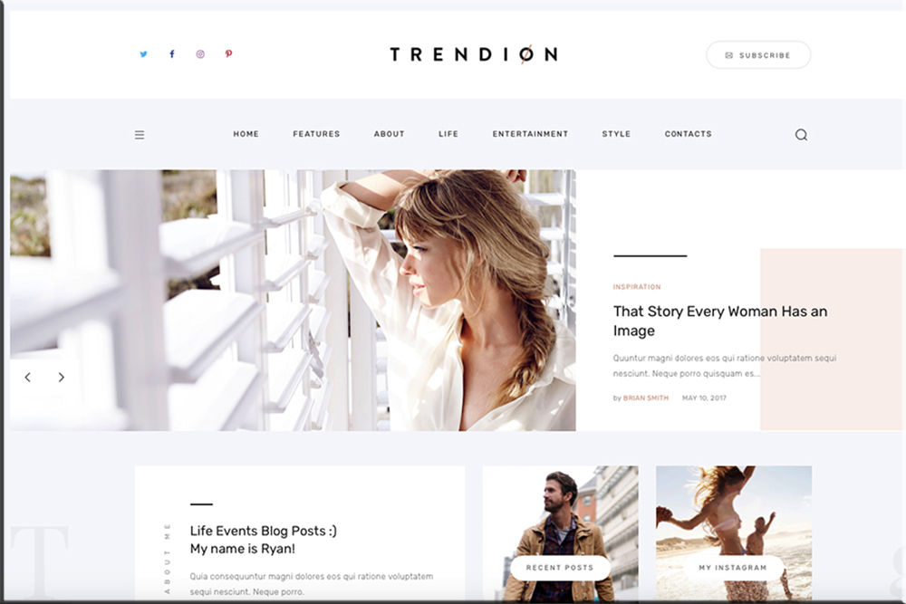 Trendion | Personal Lifestyle Blog and Magazine