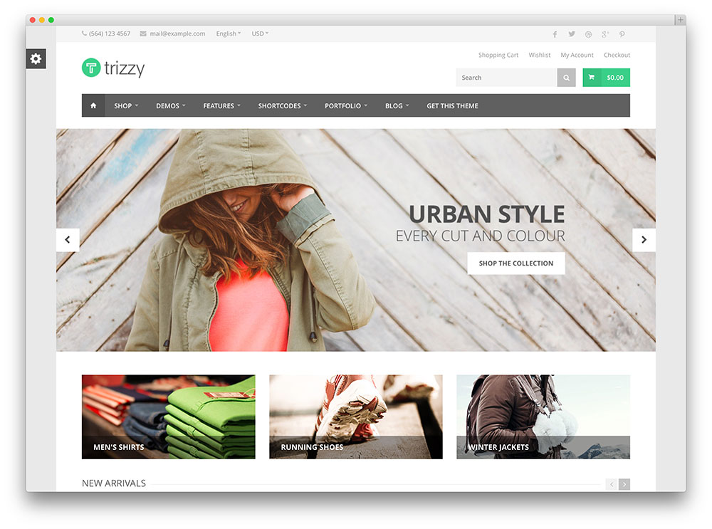 trizzy urban multipurpose woocommerce shop theme