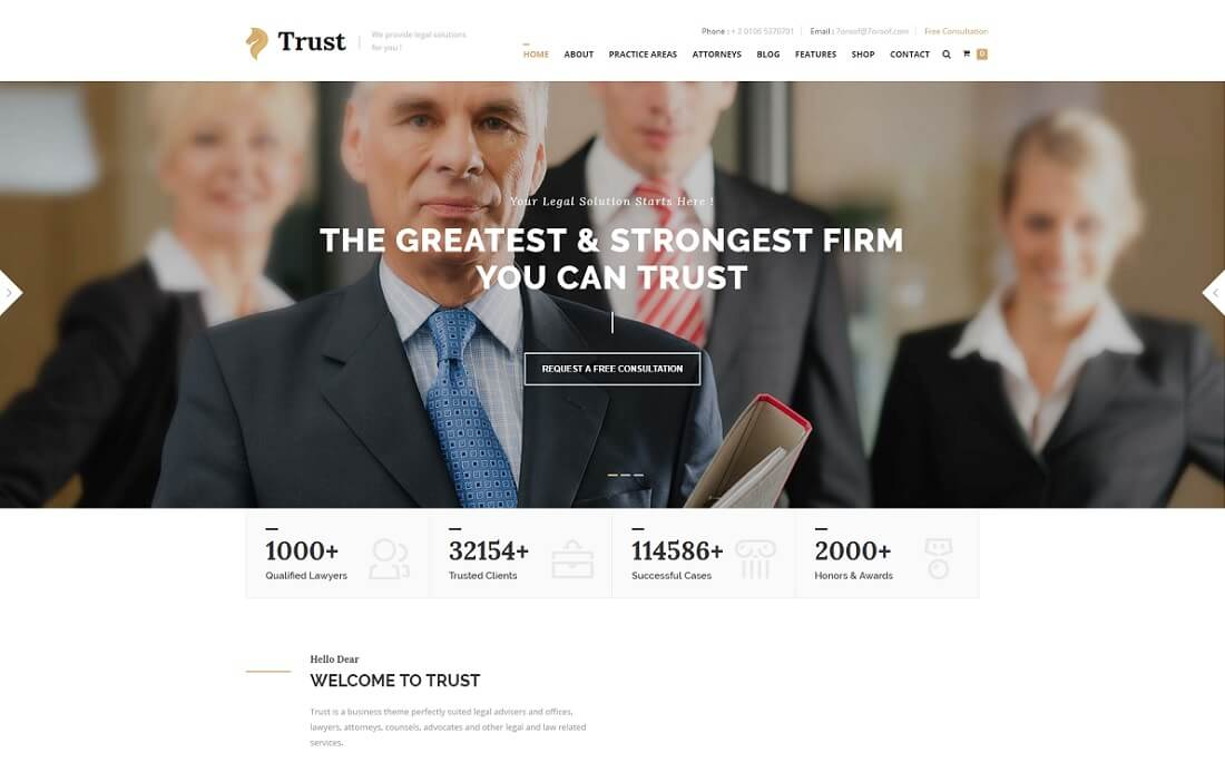 16 powerful premium lawyer website templates html wordpress trust html lawyer website template pronofoot35fo Choice Image