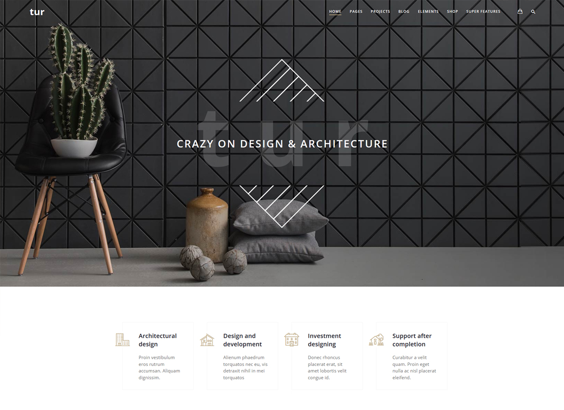 Architecture & Interior Design Tur | Architecture & Interior Design WordPress Theme
