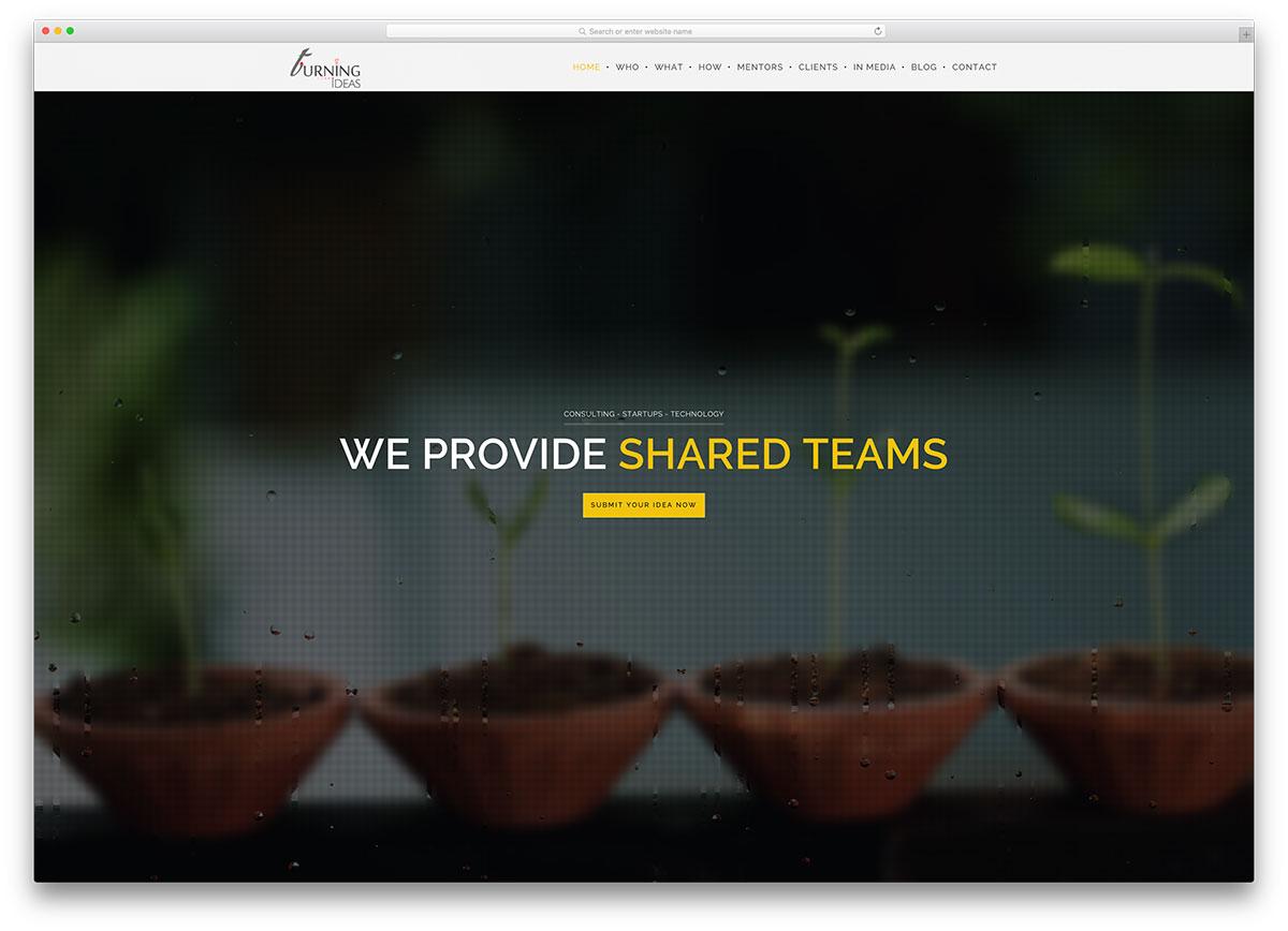 turningideas-creative-website-with-wordpress