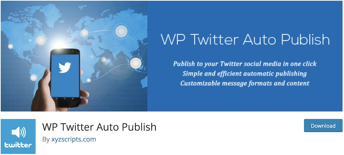 twitter auto publish wordpress plugin