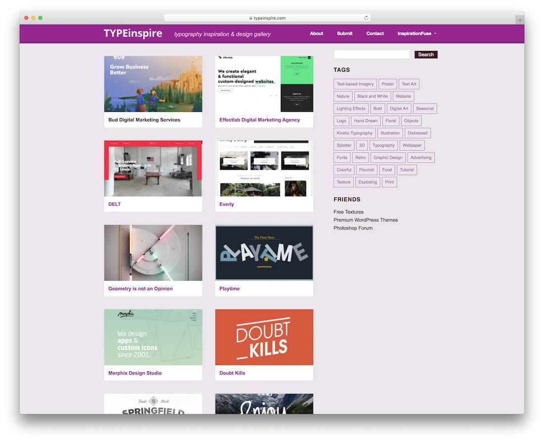 typeinspire free typography resource