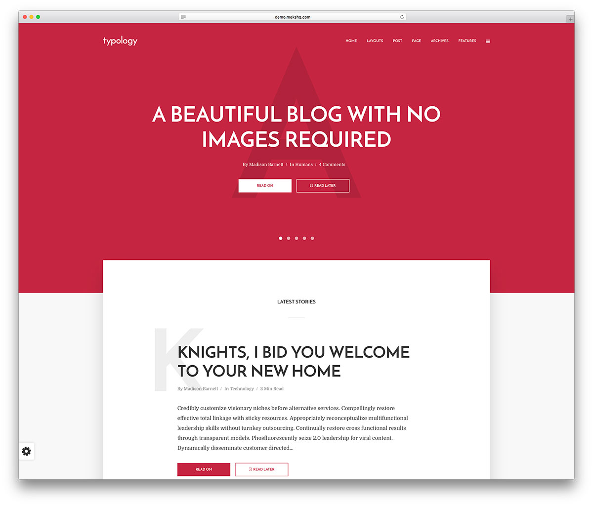 65+ Best Personal Blog WordPress Themes 2019 - Colorlib