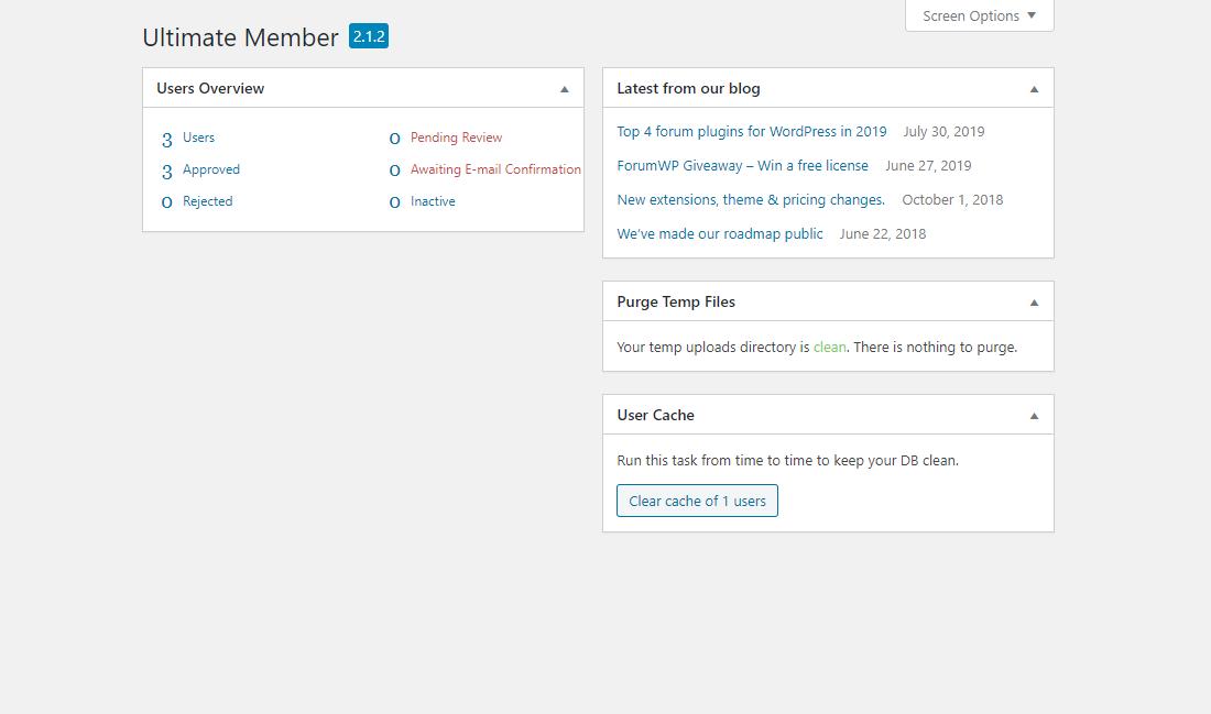Light-themed WordPress Client Portal Plugin