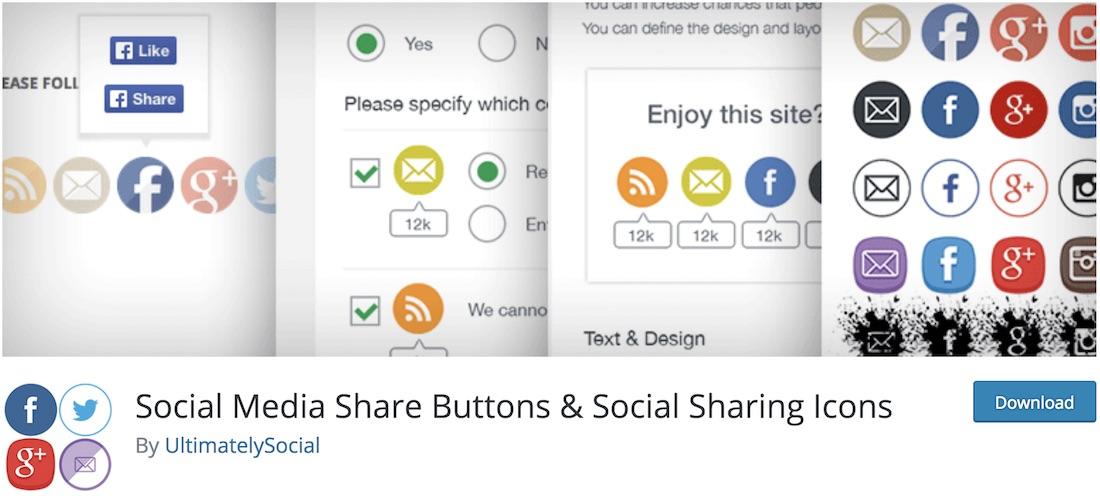 ultimate social media icons wordpress plugin