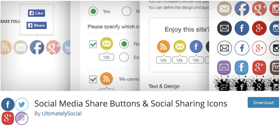 25 Most Popular Free Social Sharing Plugins For WordPress 2019