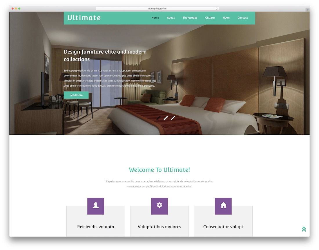 ultimate website template