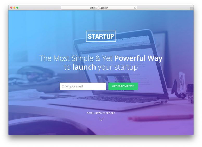 20 Unbounce Landing Page Templates 2017
