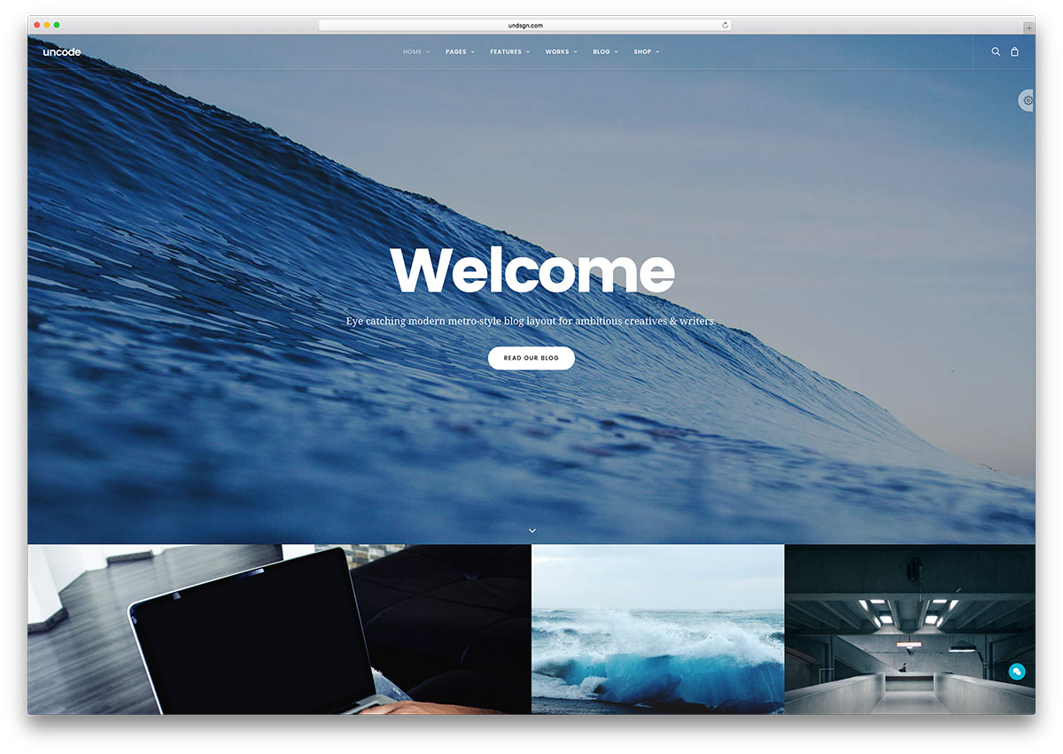 uncode-creative-wordpress-blog-theme