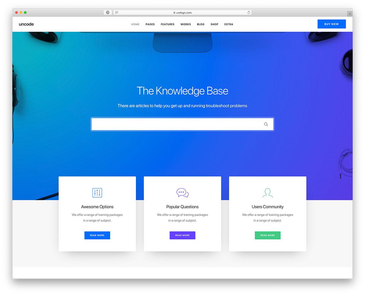 8431c4f69a01 15+ Innovative WordPress Tech Support Themes   Plugins 2019 - colorlib