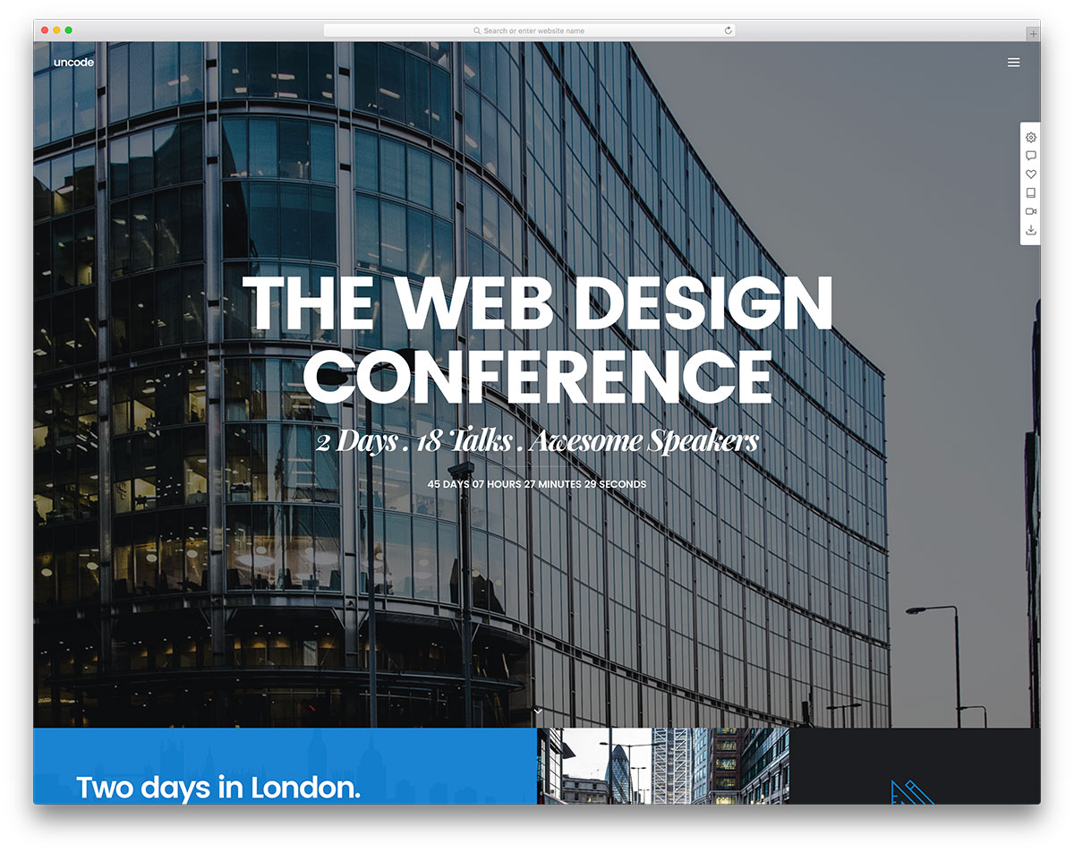 Uncode Event Wordpress Website Template