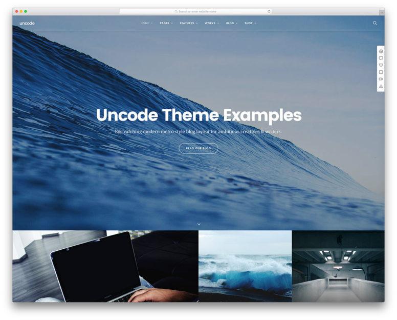 30 Beautiful Websites Using The Popular Uncode WordPress Theme