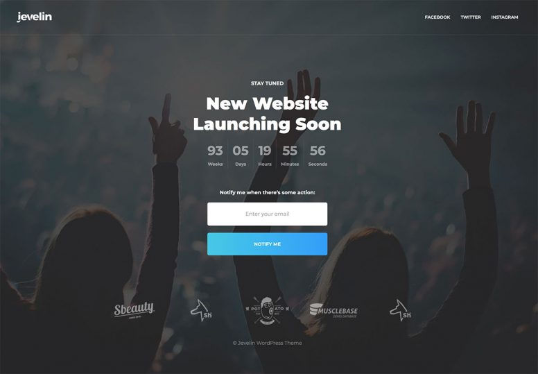 20 Awesome Premium And Free Under Construction/Coming Soon WordPress Themes – 2018