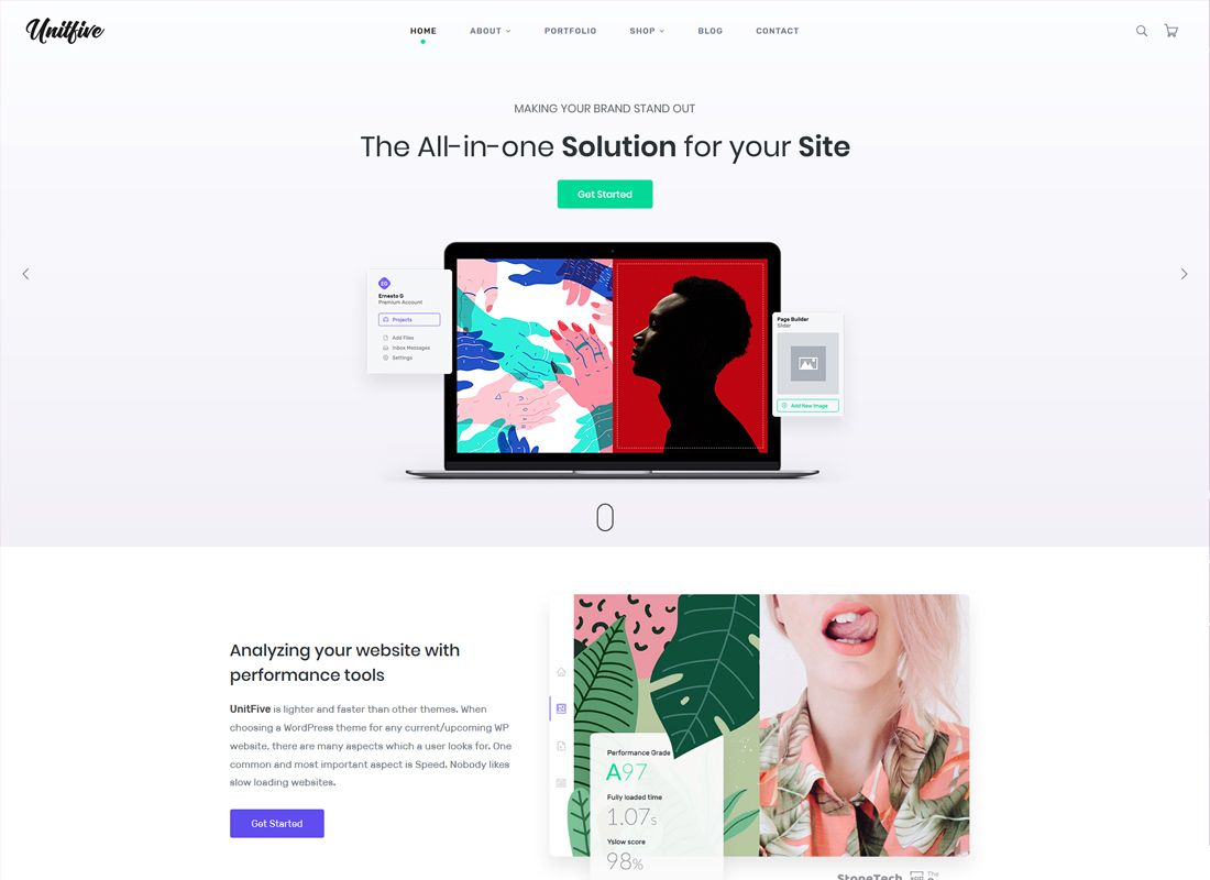Unit Five | Creative Multi-Purpose WordPress Theme + RTL
