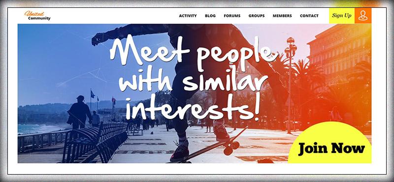 UnitedCommunity - BuddyPress Theme