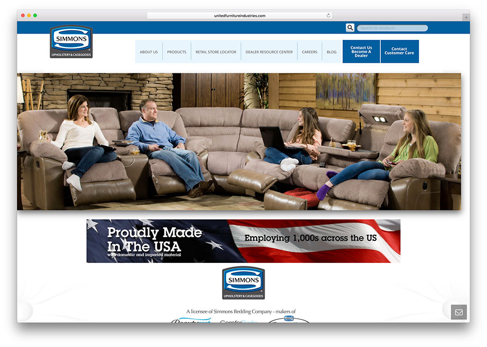 unitedfurnitureindustries-furniture-store-using-jupiter-theme