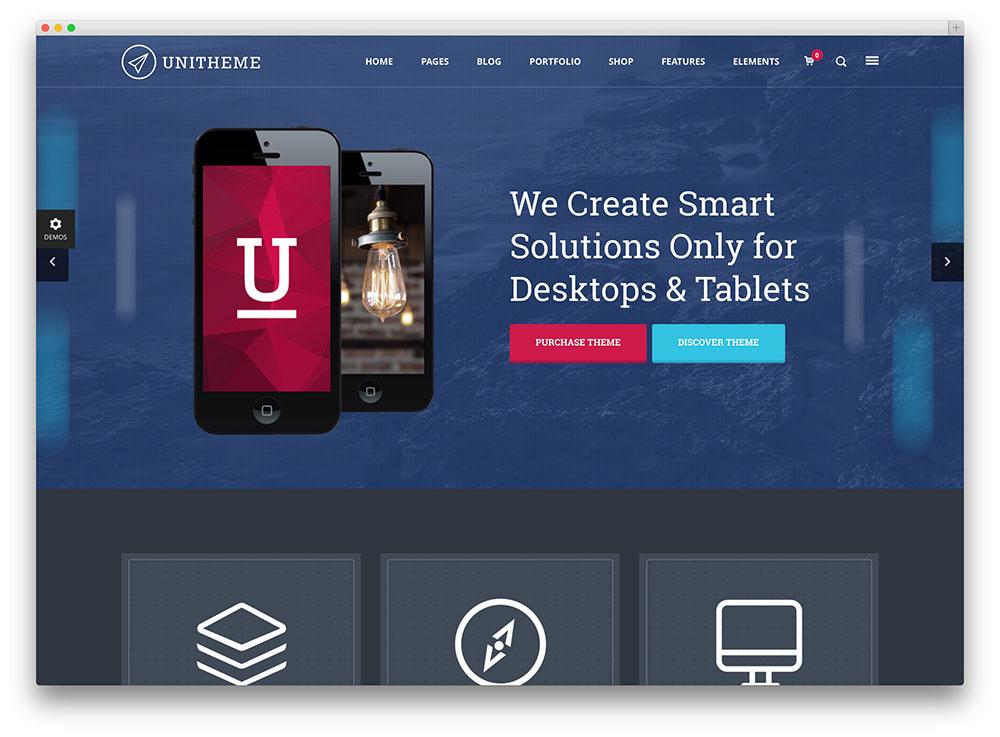 unitheme beautiful multipurpose consulting service theme