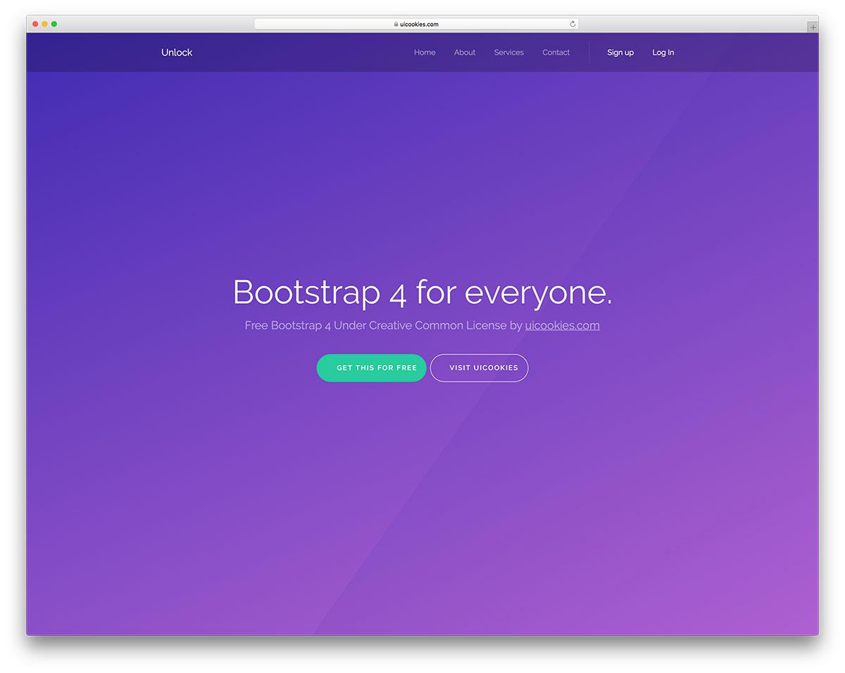 30 Top Free Bootstrap 4 Website Templates 2018 - Colorlib