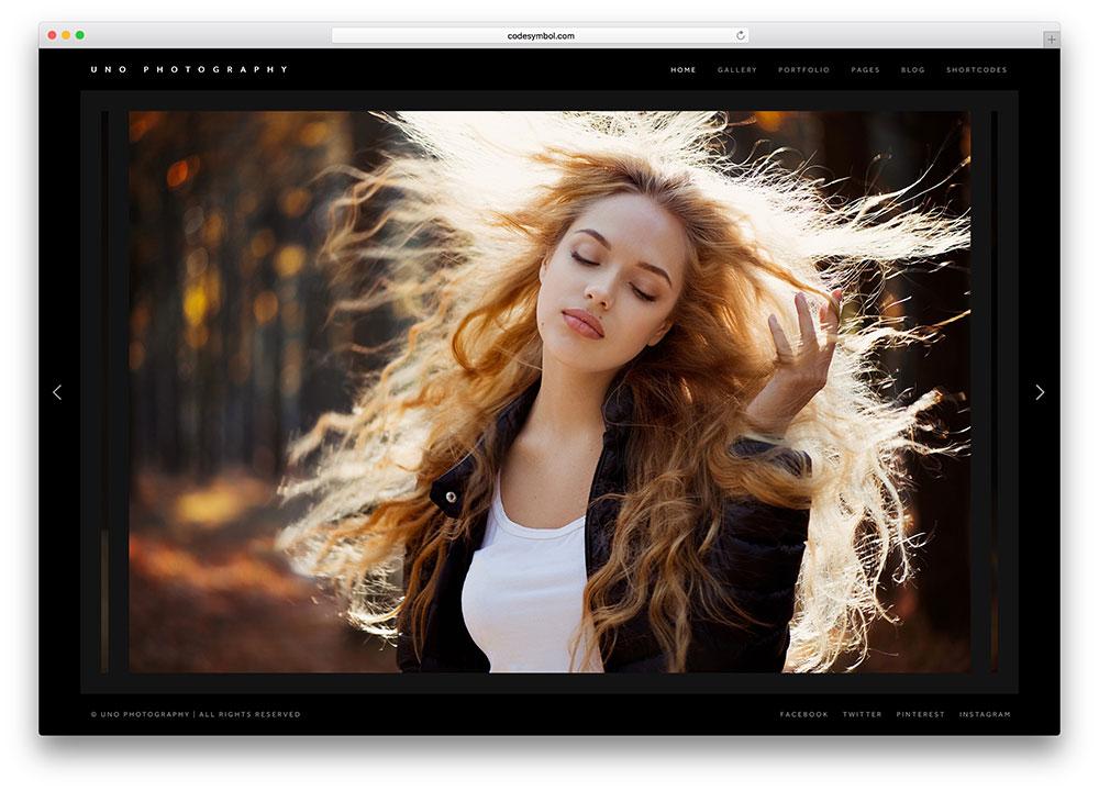 uno-dark-fullscreen-photography-website-template