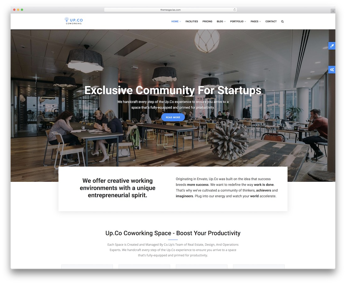 up-co drupal business template