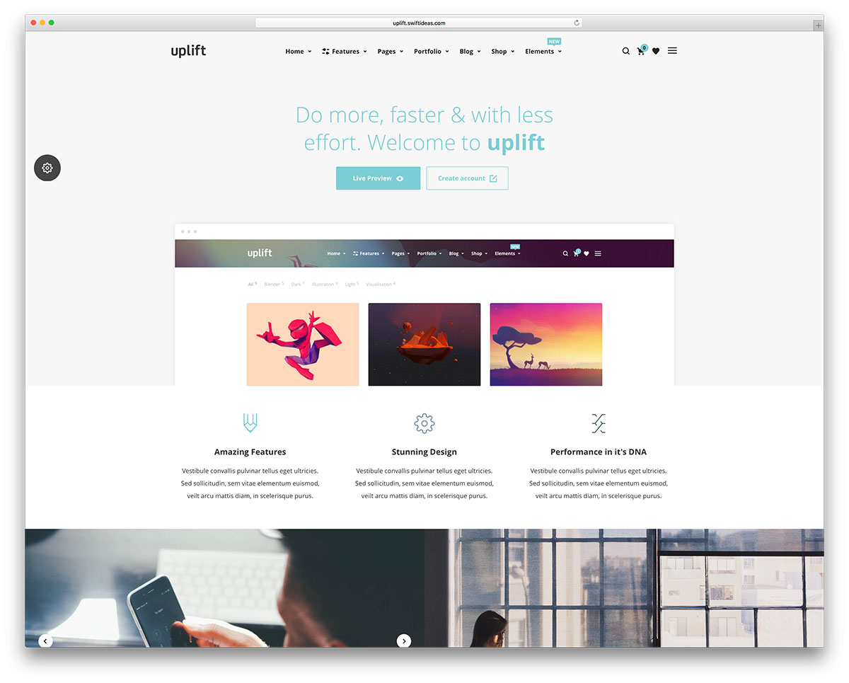 uplfit-tech-startup-website-template