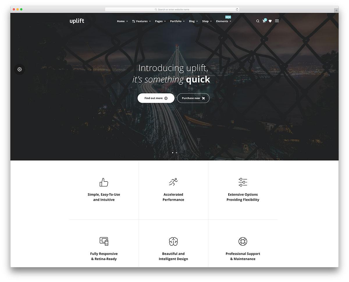 uplift-simple-marketing-landing-page-template
