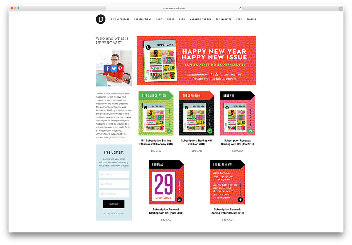 uppercasemagazine-book-published-ecommerce-site