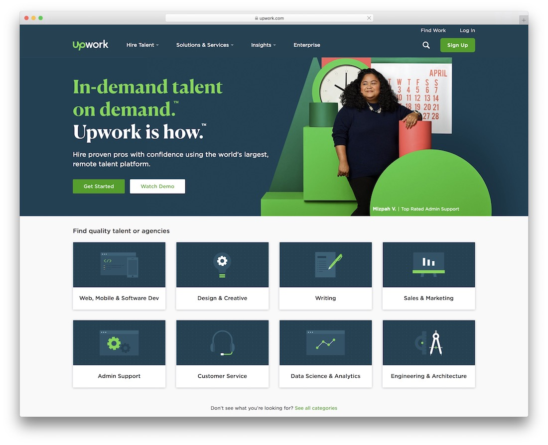 upwork freelance marketplace