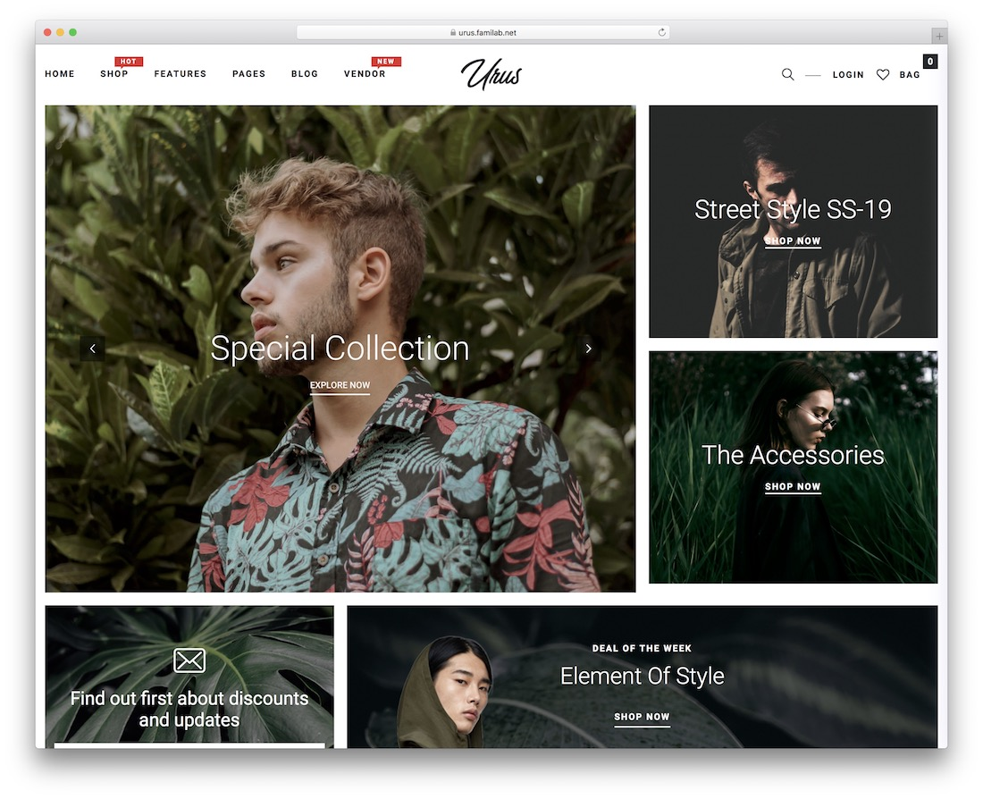urus amazon affiliate wordpress theme