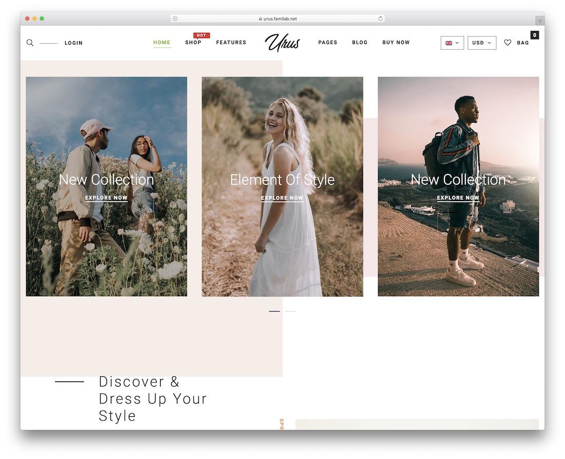 urus marketplace wordpress theme