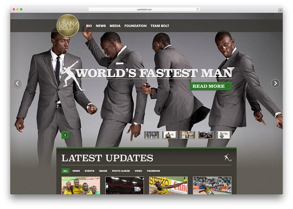usain-bolt-wordpress-website