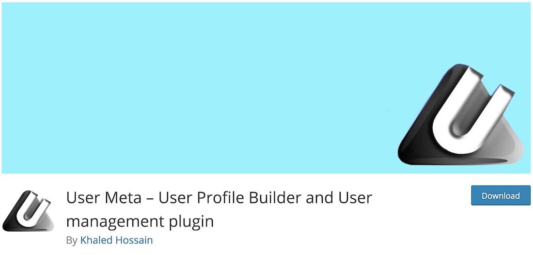 user meta wordpress plugin
