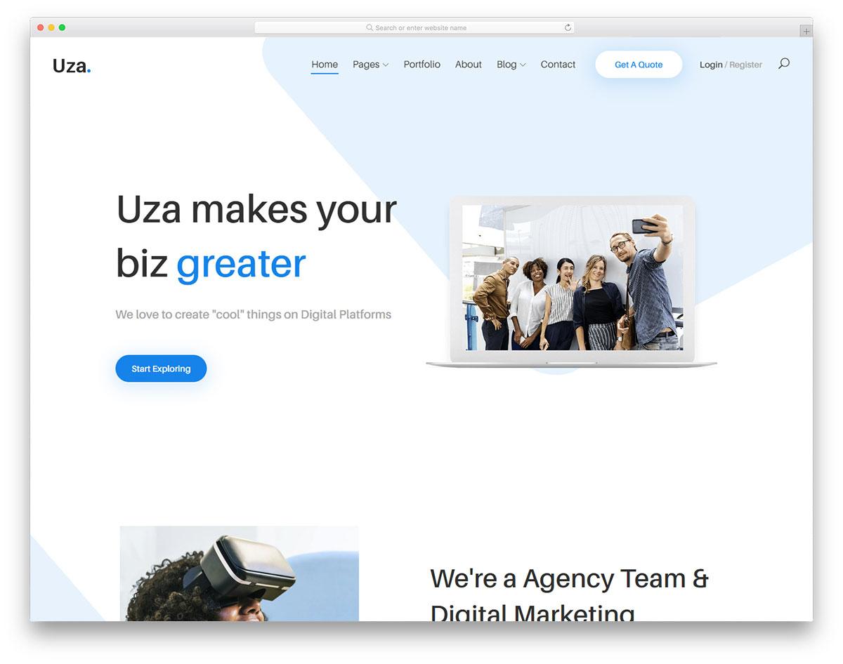 uza free template