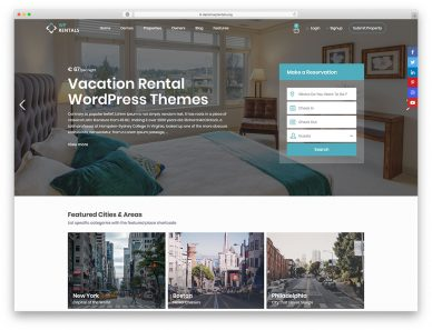 Vacation Rental WordPress Themes