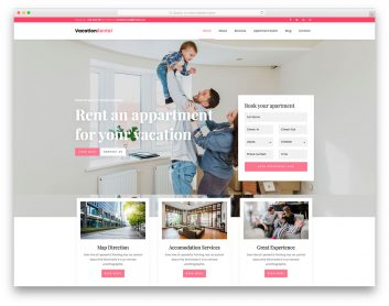 Vacation Rental Free Template